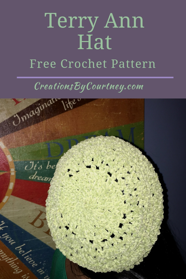 Terry Ann Hat, free crochet pattern