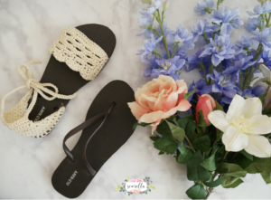 Crochet Sandals with flip flop soles by Sewrella