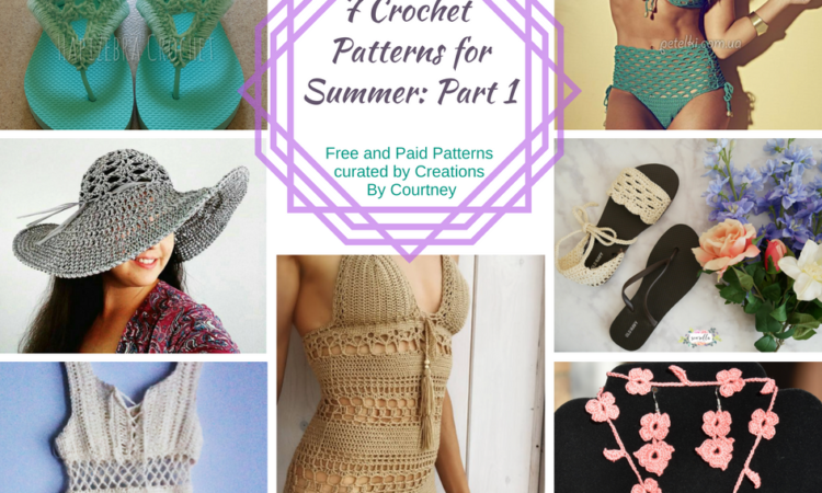 7 Summer Crochet Pattern Roundup, Part 1