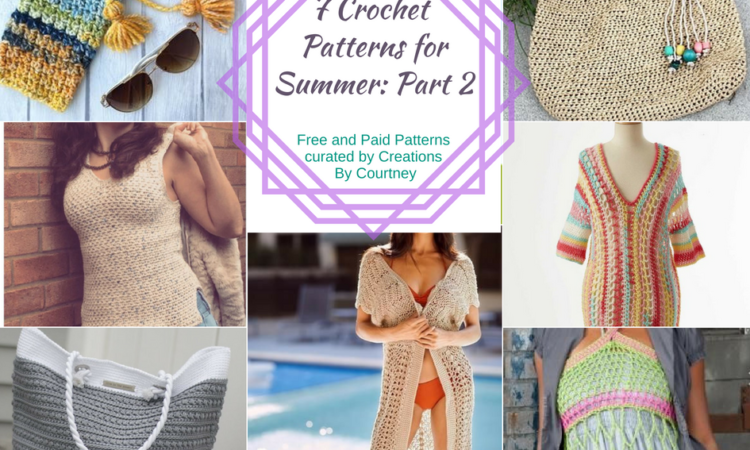 Summer Crochet Pattern Roundup