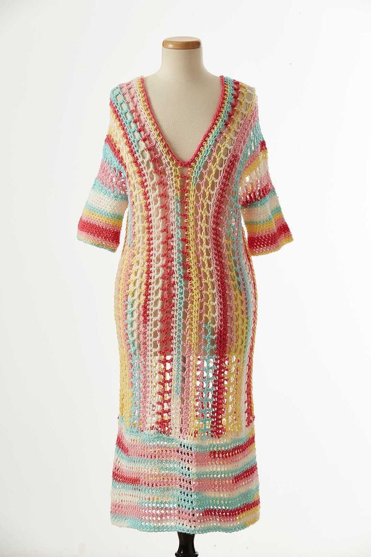 Playful Swimsuit Cover-up by Novella Jewell Bobo
