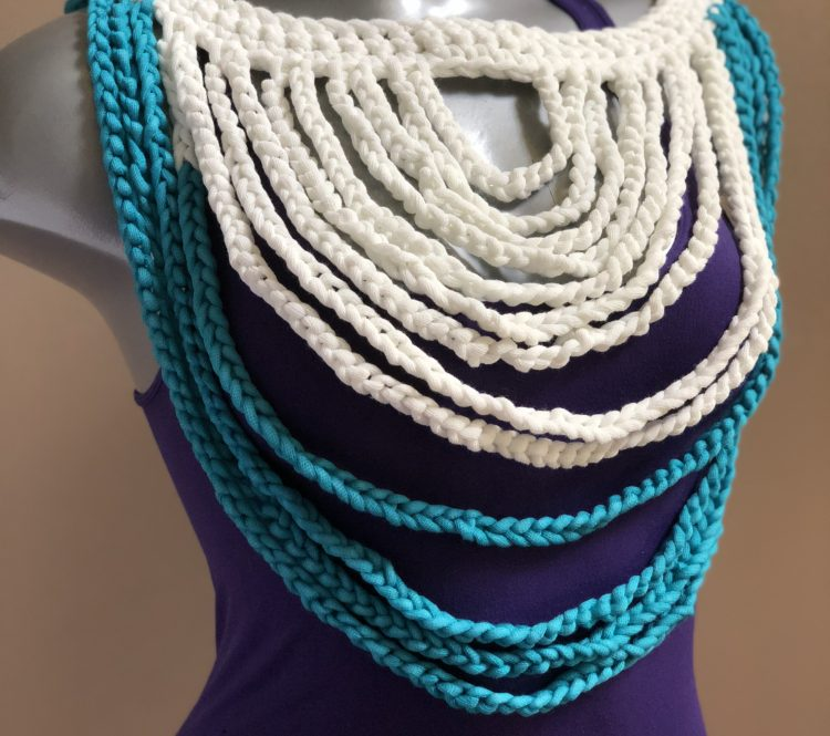 Braided Breeze Necklace + Belt Crochet Pattern