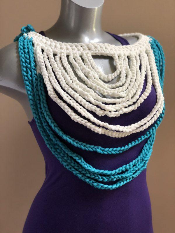 Braided Breeze Necklace + Belt Crochet Pattern