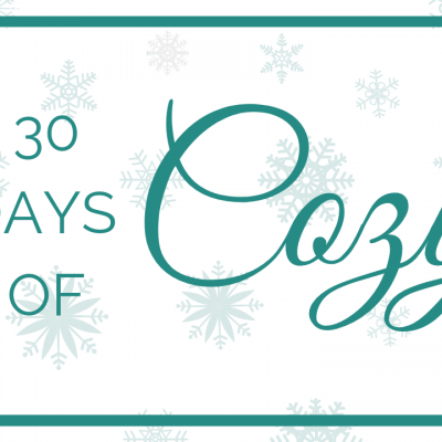 30 Days of Cozy by Made With A Twist. 30 + Free and Premium Crochet Patterns with a new one released each day until October 15.