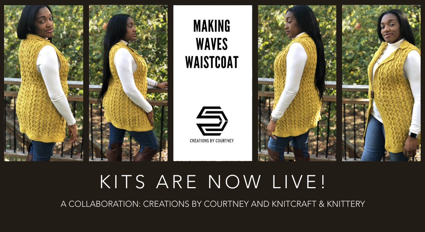 Pre-order a kit from Knitcraft & Knittery to receive enough 100% Australian Merino Wool