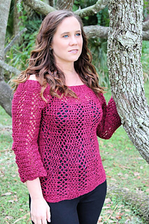 Sabre Sweater Crochet Pattern