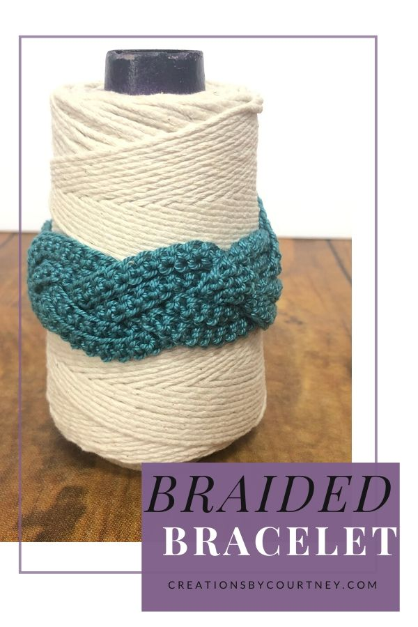 The Braided Bracelet is a fun, quick crochet accessory made with fashion 3 thread. This pattern is available in three sizes for the perfect fit.