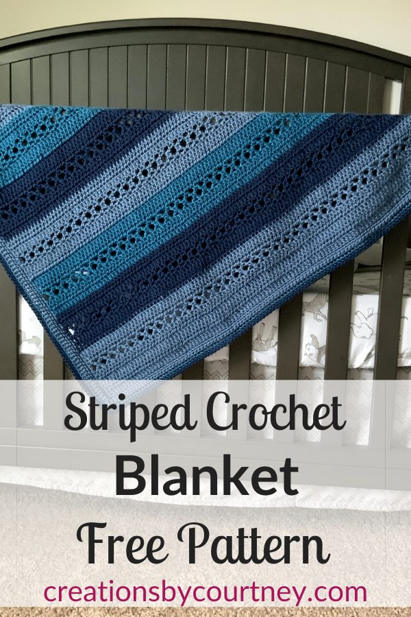 The Wrapped in Kisses Blanket makes a wonderful gift for many occasions. Whether baby sizes or afghan, you can create it with any yarn. The instructions are included in the ad-free PDF. The Crib Size is available for free.
