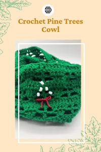 The Pine Trees Cowl is a quick, one skein, free crochet pattern. It's available in one size , but can be adjusted for different sizes. This is a great cowl to gift and make in any color for the whole family.