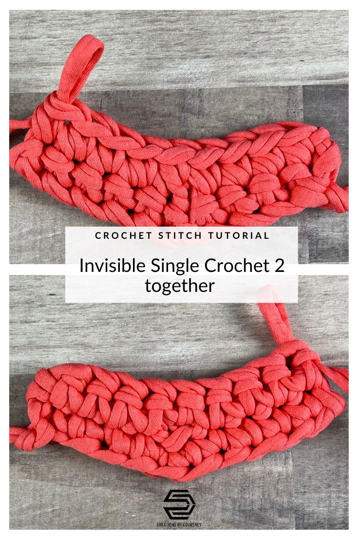 Learn how to create the invisible single crochet 2 together, i-sc2tog. It creates less bulk than the traditional sc2tog, and is great for any project. Most often the i-sc2tog is used in amigurumi, but start using it today in any crochet project, such as hats worked in the round and shaping garments.